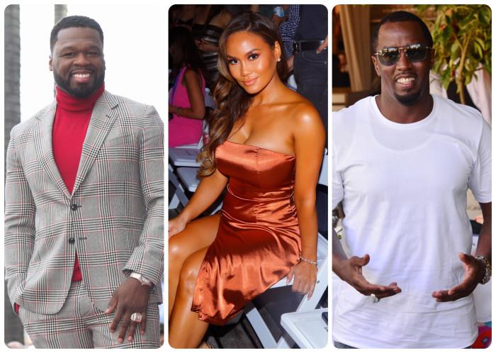 Diddy, 50 Cent, Daphne Joy